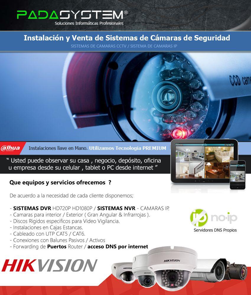 instalacion camaras de seguridad videovigilancia